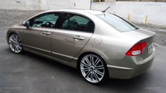 "*MAKE /MODEL /YEAR*. Honda Civic 2009 com rodas aro 20"" foto 6"
