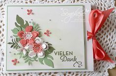 scraphexe: Merci Box with instructions - coloring with Wink of Stella Botanical Blooms, Botanical Builder Framelits, One Big Meaning Atlanta Botanical Garden, Botanical Gardens, Potpourri, Small Garden Landscape, Backyard Ideas For Small Yards, Wink Of Stella, Hand Drawn Flowers, Cactus Print, Botanical Flowers