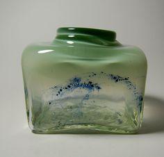 Benny Motzfeldt, 12 x 15 x 13 cm, weight kg, signed: Randsfjord Benny Motzfeldt Fredrikstad, Fjord, Old Bottles, Tins, Norway, Glass Art, Vase, Antiques, Ebay