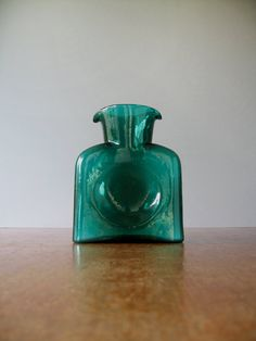 Blenko Glass Pitcher / Vase / Decanter / Bottle  384 by luola
