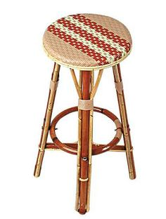 TK Collections - Classic French bistro stools popular in the sidewalk bistros and coffee shops of France. These rattan bistro stools are sturdy commercial restaurant quality French rattan stools. Dinner Chair, Plastic Chair, Bamboo Dining Chairs, French Bistro Chairs, Saarinen Chair, Bistro Stools, Pool Lounge Chairs, Pedicure Chairs For Sale, Leather Swivel Chair