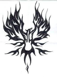 The phoenix tattoo I keep dreaming about