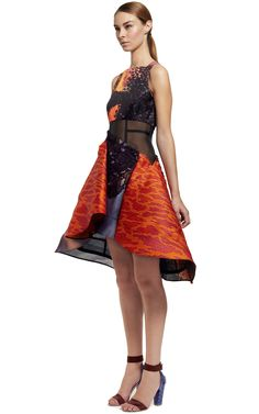 Volcano Dress by Peter Pilotto for Preorder on Moda Operandi