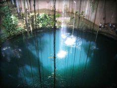 Blue Cenote-Yucatan