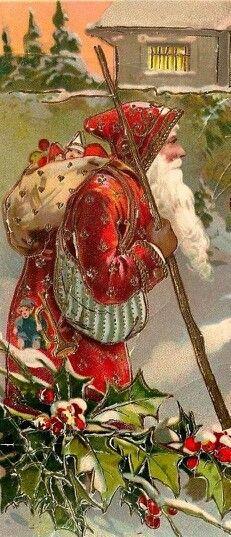 Vintage Santa #noel #Navidad