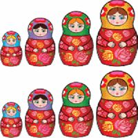 babushka babushka... My daddy would bring these back to me from his trips over seas <3
