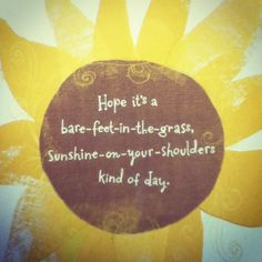 Sunshine Wishes..