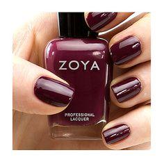Deep burgundy nail polish - Fall Makeup Essentials | Germ Magazine