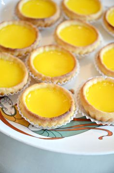 Mini egg tart @ Dynasty Restaurant