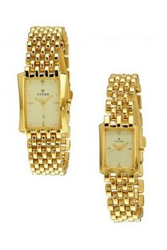Golden in colour, this titan-19272927ym02 couple watches #couplewatches #goldenwatches #couplewatchesonline #onlinewatches Shop here-  https://trendybharat.com/offer-zone/offer-alert/independence-day-sale/titan-19272927ym02-couple-watches-19272927ym02_1