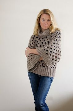 Outstanding Crochet: Crochet&Knit Pullover.