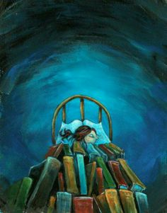 A book blanket of dreams! Crafted for the night sky to shine and give the divine. Books - Boeken