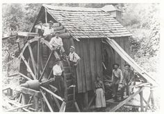 Photograph of Potter's Mill in Blount County, Tennessee. 1910. Volunteer Voices: The Growth of Democracy in Tennessee.