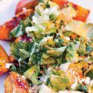 Escarole with Nectarines and Ricotta Salata Recipe by Barton Seaver on williams-sonoma.com/