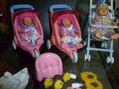 Baby Born mini world Jogger Buggy Set