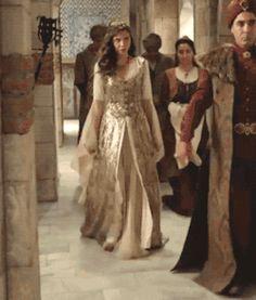 "Mahfiruze (Rasha) Sultan - ""The Fire Flowers (Ciceklerin Atesi)"" Season Episode 5 Angelina Jolie 90s, Fire Flower, Fashion Silhouette, Story Inspiration, Gowns, Costumes, Episode 5, Season 1, Renaissance"