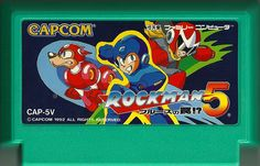 Rockman 5 #Nintendo #Famicom #Rockman #Megaman #Capcom #RetroGaming #Retro #Gaming