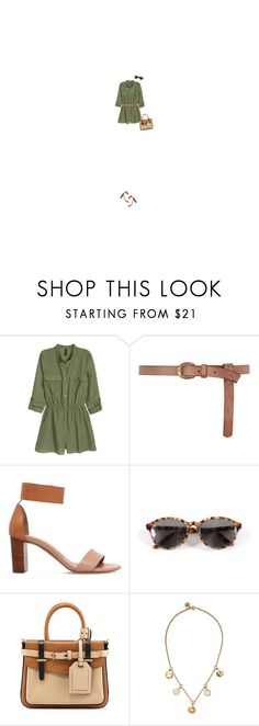 """""""Untitled #485"""" by gracefuldancing ❤ liked on Polyvore featuring H&M, Dorothy Perkins, Chloé, Bausch & Lomb, Reed Krakoff and Marc by Marc Jacobs"""