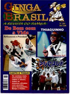 FAMA OFICIAL: Entrevista dos irmãos Fabinho Alencar e Marcelo Alencar para a Revista Ginga Brasil deste mês