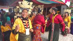 Tuaran Sabah Malaysia-Jan 17, 2016:Footage Of Bajau Ladies In Traditional Costume Perform Joget Dance During Festival .Bajau Is Among Tribe In Sabah Famous With Striking Costume Colors. Stock Footage Video 13939328 - Shutterstock