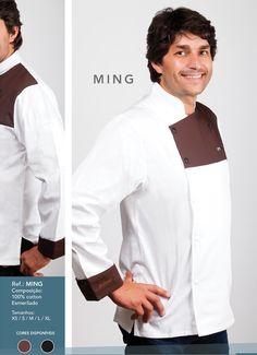 Jaleca Ming/Ming chef coat