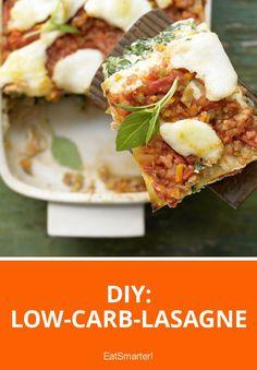 DIY: Low-Carb-Lasagne | eatsmarter.de