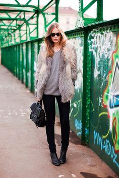 fur coats - street style (9)