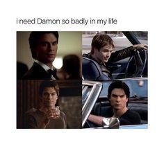 TVD Damon yes please
