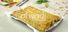 Middle Eastern Beef Borek Rolls;  Meat-filled pastry, rolled in a spiral log shape using Al Wadi Al Akhdar pomegranate molasses and tahina! Delicious Desserts, Yummy Food, Pomegranate Molasses, Rolls Recipe, Spice Mixes, Savoury Dishes, Tray Bakes, Food Videos, Middle