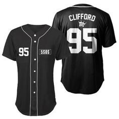 5 Seconds of Summer - Clifford Baseball Jersey Small 5sos Shirt, T Shirt, Second Of Summer, Baseball Jerseys, Sport Wear, Fashion Killa, Hoodies, How To Wear, 5 Seconds