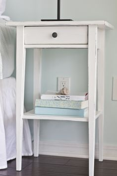 Ikea bedside night table -painted and distressed