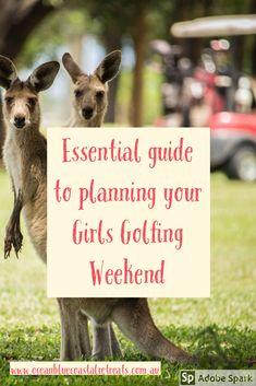 Great ladies golf on the Mornington Peninsula, Victoria Weekends Away, Ladies Golf, Your Girl, Essentials, Victoria, Ocean, How To Plan, Blog, The Ocean