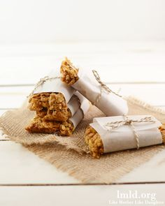 Honey Bunches of Oats and PB granola bars