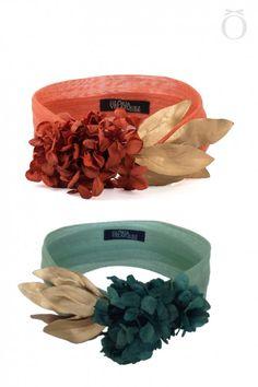 Bandeau Hortensias Fascinator Headband, Fascinators, Headpieces, Barrettes, Millinery Hats, Fancy Hats, Head Accessories, Wedding Headband, Love Hat