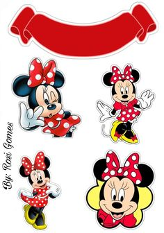 Mickey Mouse Birthday, Mickey Minnie Mouse, Girl Birthday, Deco Stickers, To Do Planner, Foto Transfer, Mini Mouse, Mouse Parties, Holidays And Events