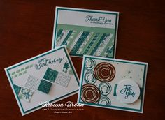 Tuesday Tips! Got scrap? - 101 Projects with Rebecca.  Stampin' Up! Blooms and Bliss DSP.  Stampin' Up! Copper Emboss. Stampin' Up! Swirly Bird