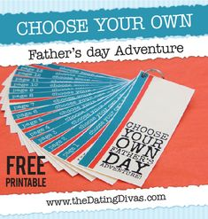 LOVE this last minute Father's Day gift!  It's a free download too.  Just print and you're done.