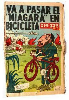 Growing up in Little Havana|  Zig Zag...comical newspaper...this was a very popular satirical publication in pre-revolution Cuba and in Exile Miami...it made fun of politicians and current events another sign of how exiles coped with heartache with humor.