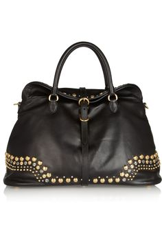 8120adb87abc  Miu Miu Studded leather tote  Bags Miu Miu Purse