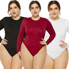 Women Bodysuits Body Mujer Feminino 2019 Sexy Jumpsuit Romper Long Sleeve Blouse Bodycon Playsuit Plus Size Overalls Long Romper, Long Sleeve Romper, Womens Bodysuit, Black Bodysuit, Rompers Women, Jumpsuits For Women, Best Online Shopping Websites, Casual Jumpsuit, Playsuit