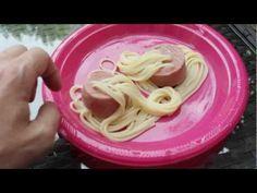 Espaguetis con salchichas-Receta ideal para estudiantes-Cocina creativa, Vídeo-lección de Nutrición