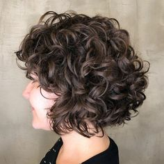 Curly Bob Hairstyles 2020 Bob Curly Hairstyles Newhair Short Bob Curly Hair 2019 2020 In 2020 Curly Hair Styles Short 2019 2020 Short Curly Bob Hair For Crazy G Cute Short Curly Hairstyles, Bob Haircut Curly, Choppy Bob Hairstyles, Short Curly Bob, Haircuts For Curly Hair, Curly Hair Cuts, Curly Hair Styles, Hairstyles 2018, Updo Curly