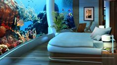 US Submarine Structures is offering the super rich a commercially-available underwater home with the luxuries of a 5-star hotel. Fully customizable and built at a location of the owner's choosing, H2OME is the perfect option for millionaires and master criminals alike.