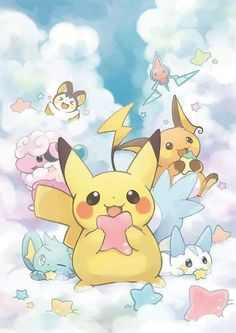 Pokemon 9 Card//Tarjeta Set KAWAIIII 9 different Pikachu Cards so cute!!