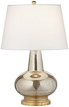Errol Long Neck Gourd Mercury Glass Table Lamp 7000