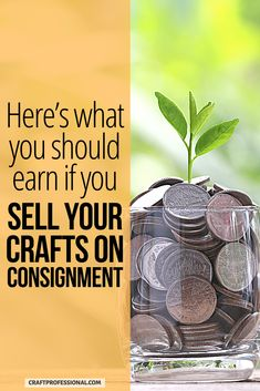 Want to sell your crafts on consignment? Here's what you should earn in a consignment selling arrangement. #consignment #sellcrafts #craftprofessional Selling Crafts Online, Craft Online, Craft Business, Business Ideas, Retail Customer, Where To Sell, Selling Handmade Items, Busy At Work, Make And Sell