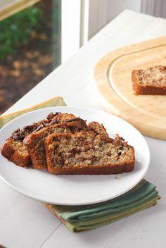 Nutella Banana Bread {Macaroni and Cheesecake}