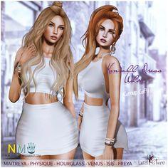 Luas White Kendall Dress SL Group Gift