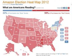 Amazon Election Heat Map Separates Book Sales Into Liberal And Conservative Categories And What