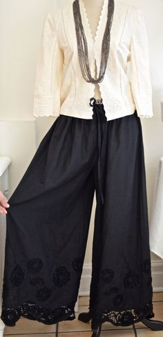 Lulu's Lagen Look Wide leg Draped pants by LulusCollection on Etsy, $45.00